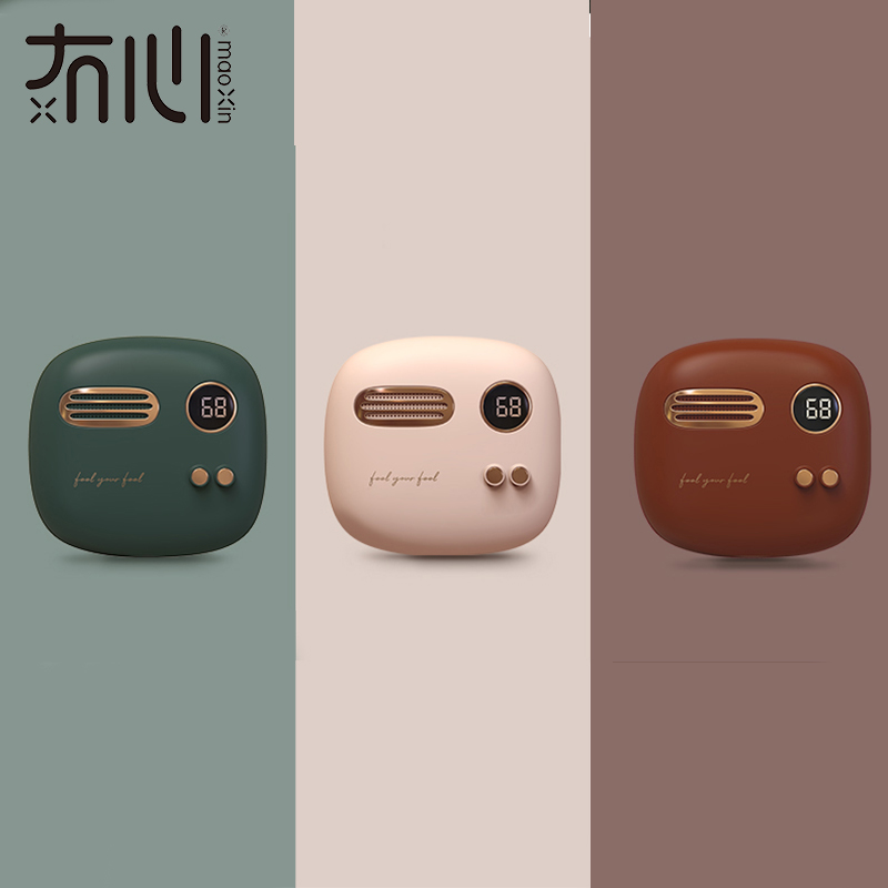 Maoxin hand warmer <font><b>power</b></font> <font><b>bank</b></font> electronic retro powerbank mini powerbank for huaweiPhone 6 7 8 X hand warmers rechargeable image