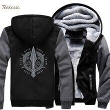 Odin Vikings толстовка мужская Viking Berserker стильная куртка зимняя брендовая теплая флисовая толстовка с капюшоном в стиле хип-хоп пальто Homme 5XL