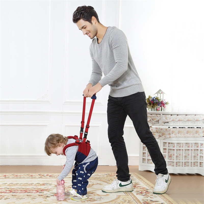 Baby Safety Harnesses Leashes Boys Girls Walker Assistant Toddler Learning Belt Children Gift Cotton Backpack Stick Kid Walking