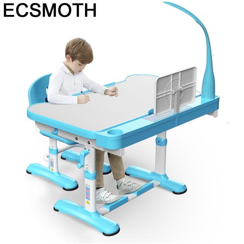 Bambini Children De Estudio Play Desk Silla Y Infantiles Pour Adjustable Kinder Mesa Infantil Bureau Enfant Study Table For Kids