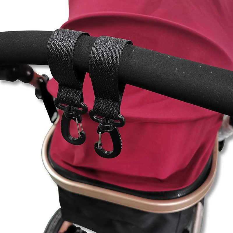 Baby Pram Pushchair Stroller Shopping Hooks for Hanging Nappy Bags Buggy Hook  T