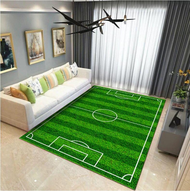 Kids Cartoon Game Blanket  Play Mat Living Room Bedroom Children's Carpet Climbing Mat Washable