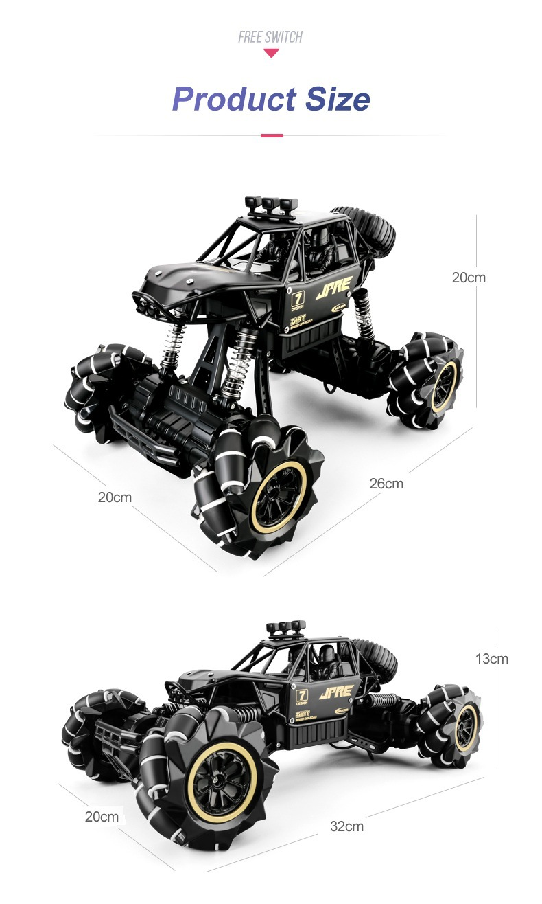 1:16 scale High Performance 4wd Watch Control Gesture Induction 2.4 GHz Remote Control Car for kids   Wild Crave