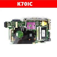 K70IC Mainboard REV2.1 For ASUS K70IC K70I K51IO K51I Laptop Motherboard 100% Test free shipping|Motherboards|   -