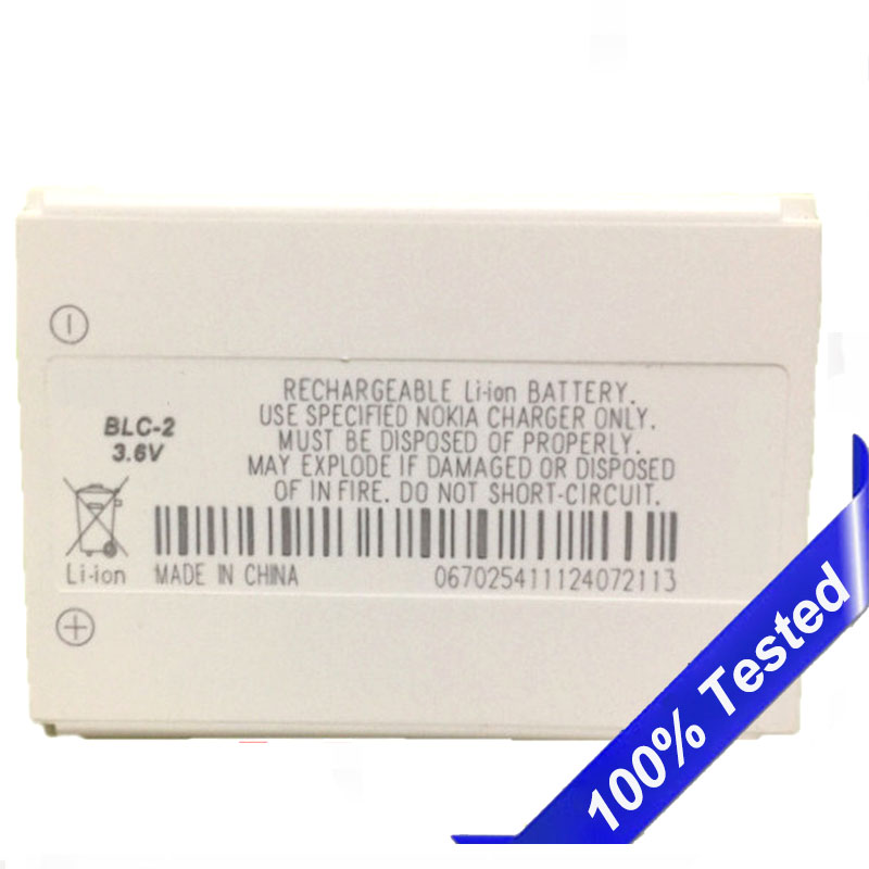 BLC-2 Battery For Nokia 3310 3330 3410 3510 3315 3350 3510 6650 <font><b>6800</b></font> 3550 5510 3530 3686 3685 3589 BLC2 Battery image