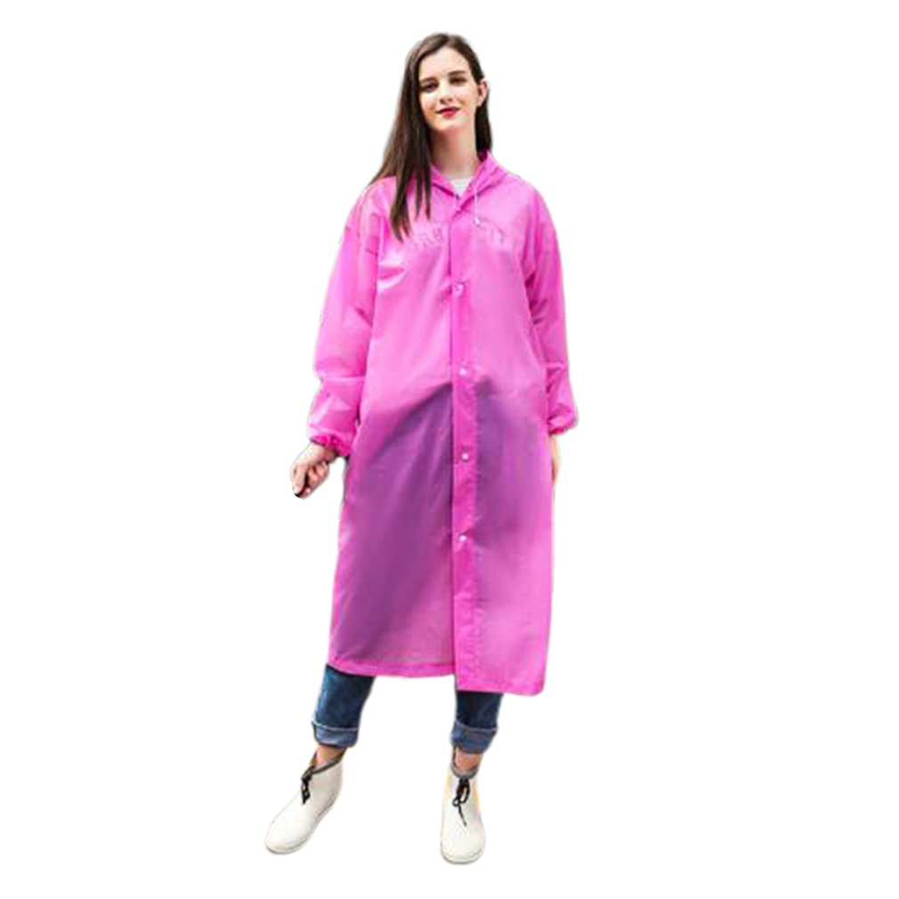 Disposable Raincoat Thick Drifting Raincoat Travel Fashion One-Piece Raincoat Environmentally Friendly Material Pe Pullover