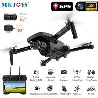MKTOYS Drone 4K droni GPS professionali con videocamera HD motore Brushless seguimi FPV Dron Quadrocopter pieghevole SG907 SG108 PRO