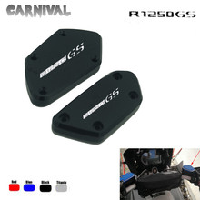 For BMW R1250GS R1250GS/ADV motorcycle front brake clutch fluid reservoir tank cover mtkracing motorcycle accessoreis cnc front brake fluid reservoir cover caps with logo for honda x adv x adv 2017
