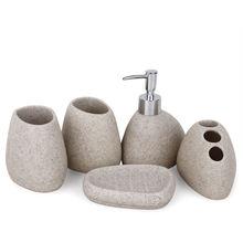 Аксессуары для ванной комнаты из смолы бутылка эмульсии Высококачественная