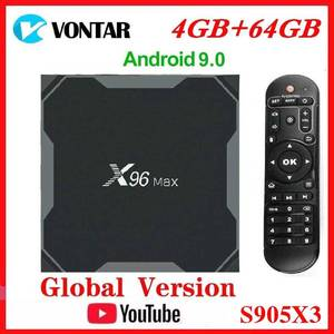 Image 1 - Vontar Amlogic S905X3 Android 9.0 TV BOX X96Max plus 8K Smart Media Player 4GB RAM 64GB ROM X96 Max Set Top Box QuadCore 5G Wifi