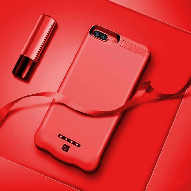 20000mah כוח בנק מקרה עבור iPhone 6S 6 7 בתוספת מקרה סוללה מטען מקרה עבור iPhone X XS 11 פרו כוח בנק טעינת מקרה