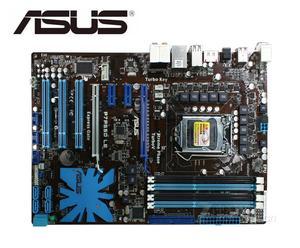 Материнская плата ASUS P7P55D LE LGA 1156 DDR3 USB2.0 I3 I5 I7 CPU 16 Гб P55 настольная материнская плата