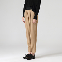 Toyouth Women Casual Ankle-Length Harem Pants Autumn Loose E