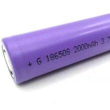цены на OOLAPR 1pcs 18650 2000mah Free shippng 18650 Li-ion Rechargeable 3.7V Battery for Flashlight Newest battery for flashlight  в интернет-магазинах