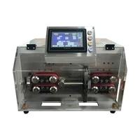 SWT508 YHT2 Automatische Peeling Striping Snijmachine Voor Draad Computer Strip Draden 3-10 Mm Dubbele Ronde Scheden Touch screen