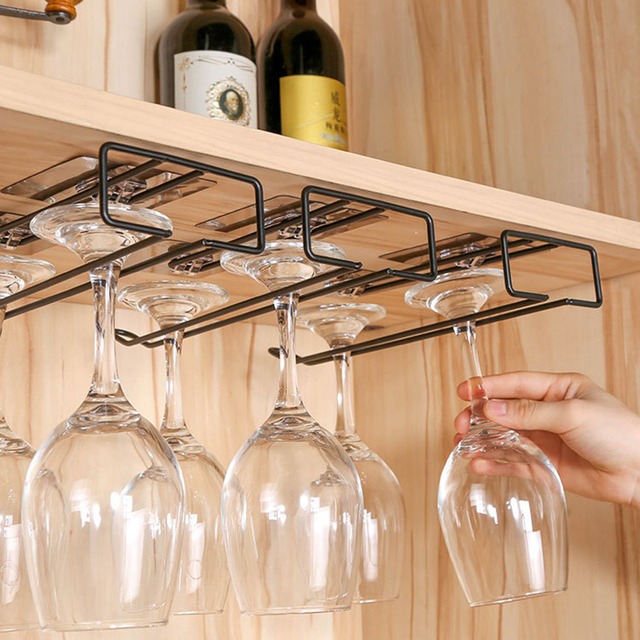 Wine Glass Holder Hanging Rack 1