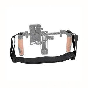 """Image 4 - Мягкий плечевой ремень CAMVATE с быстроразъемными пряжками и резьбовым болтом 1/4 """" 20 для камеры DSLR/монитора C2443"""