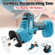 Reciprocating Saw Wood-Cutting-Machine Electric-Saw Cordless Portable 18v Makita Battery
