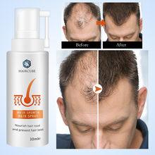 Haircube produtos de crescimento do cabelo soro spray cuidados com o cabelo tratamento do cabelo óleo orgânico anti queda de cabelo rápido crescimento do cabelo spray