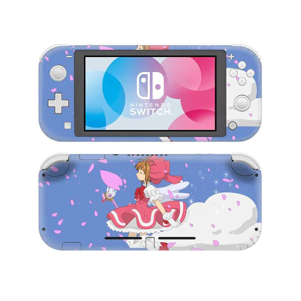 Anime Cardcaptor Sakura Skin Sticker Decal For Nintendo Switch Lite Console Protector Mini Nintendo Switch Lite Skin Sticker