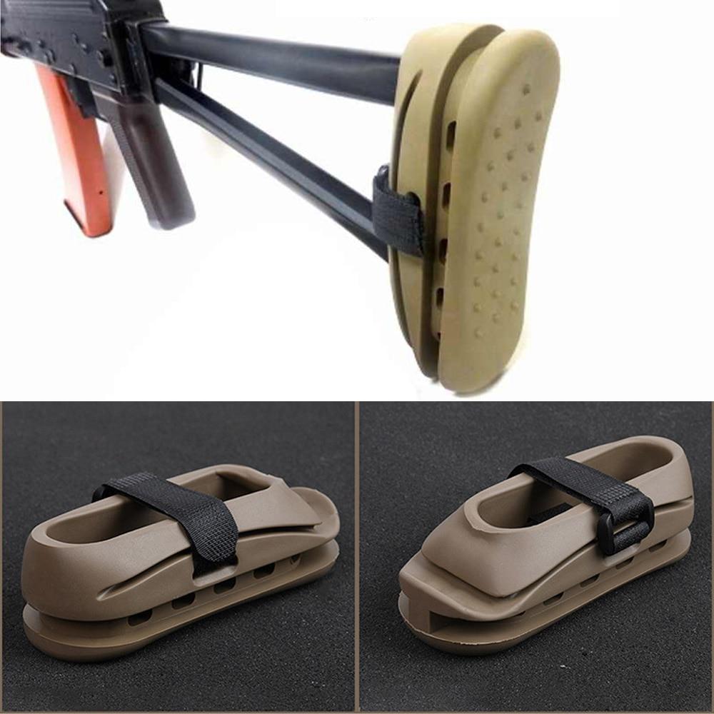 Тактическая страйкбольная АК-прокладка, Противоударная резиновая Охотничья винтовка для пейнтбола AK47, задняя подушка, аксессуары