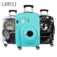3D Kamera Gepäck Abdeckung Verdicken Elastizität Gepäck Schutzhüllen Koffer Fall Geeignet für 18-32 zoll Reise Zubehör