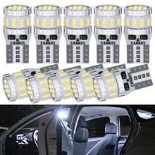 10x T10 W5W 168 194 LED Canbus Bulbs Car Parking Lights For Toyota RAV4 Yaris Camry 2007 2008 2009 Corolla Auris Avensis Prius