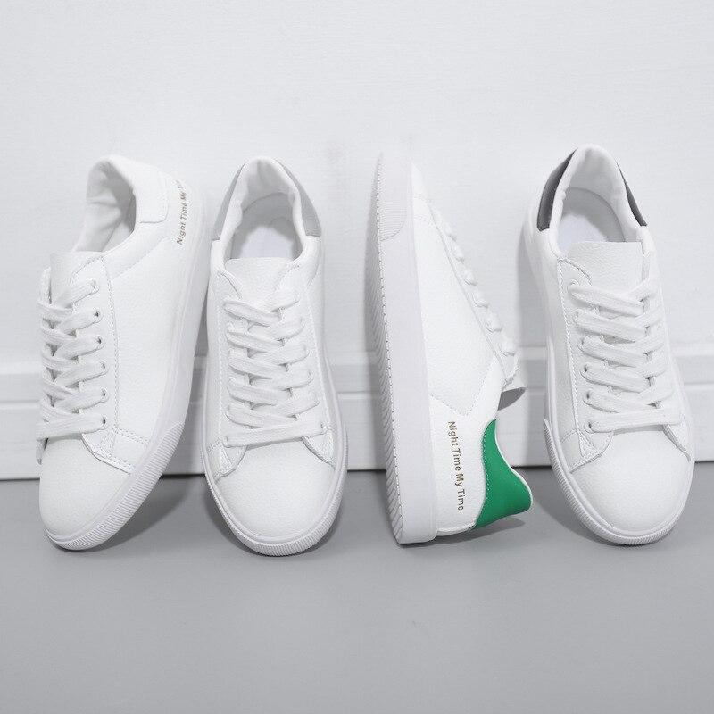BACKCAMELSmall Weiß Schuhe Weibliche 2019 Frühling Neue Mikrofaser Leder Gürtel mit Niedrigen Gummi Boden Rutsch Tragen ResistanceSIZE37 40 - 6