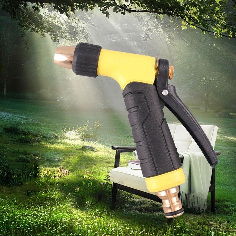 High Pressure Garden Water Gun For Watering Lawn Hose Spray Water Nozzle Gun Car Washing High Quality Water Gun Sprinkle Tools