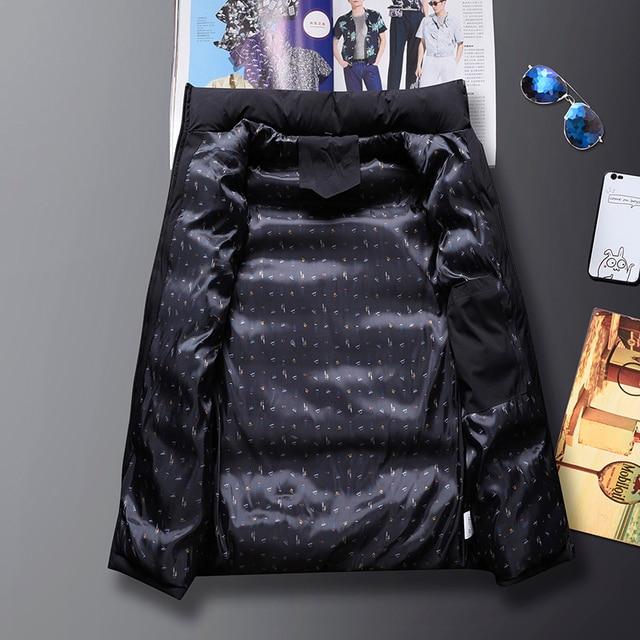 Mens Vest Jacket Men New Autumn Warm Sleeveless Jackets Male Winter Casual Waistcoat Vest Plus Size Veste Homme Brand Clothing 3