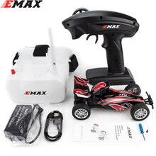 Emax interceptor fpv racing carro 2.4g, controle de rádio, alta velocidade com óculos para câmera, rc s rtg versão para o presente