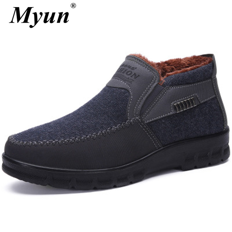 New Warm Camouflage Winter Men Boots High Quality Men Snow Boots Waterproof Soft Winter Sneakers Footwear Shoes Men Ankle Boots