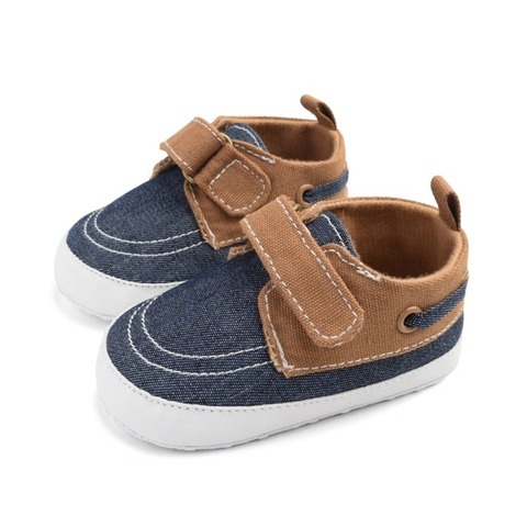 Boys Baby Shoes Sneakers Baby Shoes Breathable Canvas Shoes 0-18M Boys Shoes 3 Color Kids Toddler Shoes Lahore