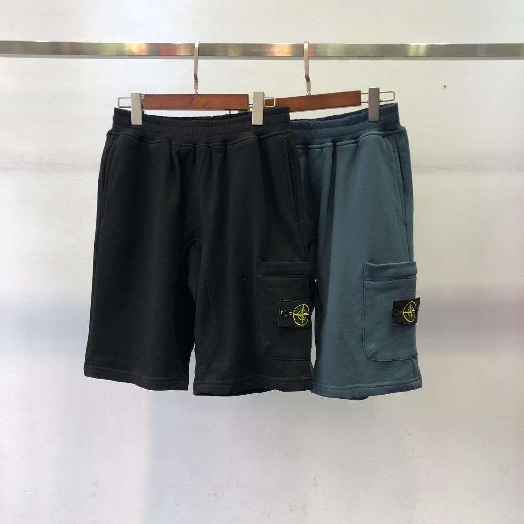 2019 Spring And Summer New Style Hot Selling Stone Island-Side Label Evergreen-Cotton Shorts Popular Brand Bermuda Shorts