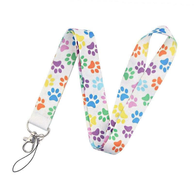 Купить собачья лапа ремешок для ключей держатель телефона забавный