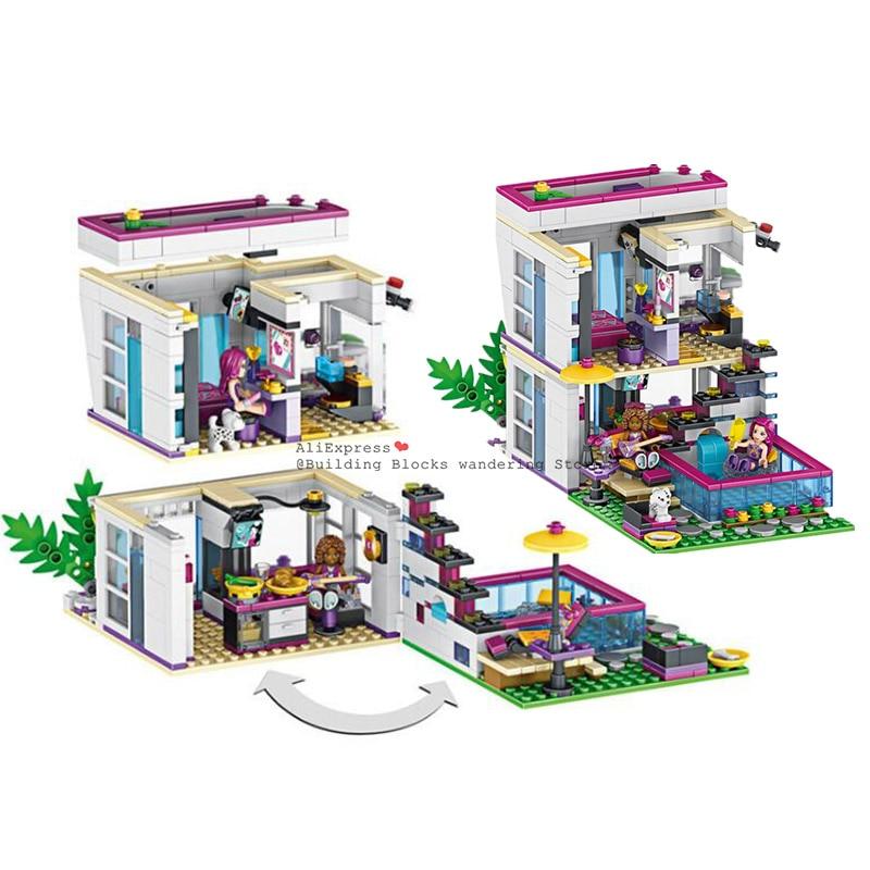 Friends Star Livi/'s House Building Block Brick Toy Children Girl Birthday Gift