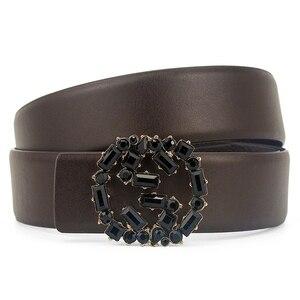 Image 5 - belts for women luxury designer mens belts high quality famous brand pasek damski genuine leather belt men cinturon mujer cinto