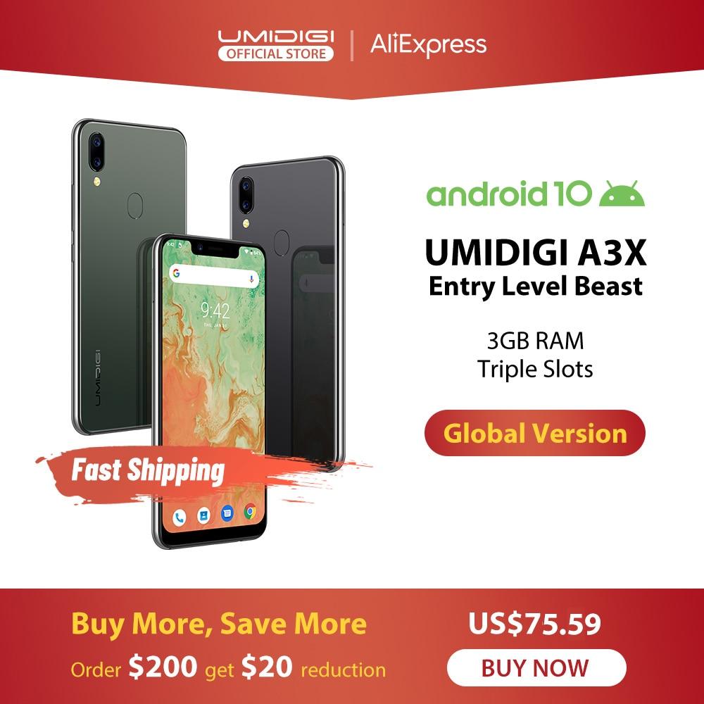 UMIDIGI A3X Android 10 Global Version 3GB RAM 5.7