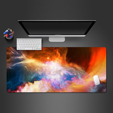 Most Cool Ice Fire Two Level Mouse Pad High Quality Professional And Advanced Skid-resistant Game Player To Gamer Mousepad(China)