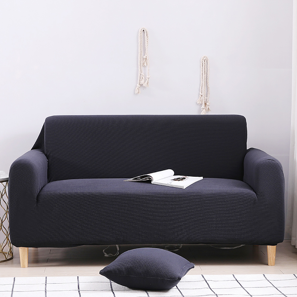 Navy Sofa Cover Durable Comfortable For