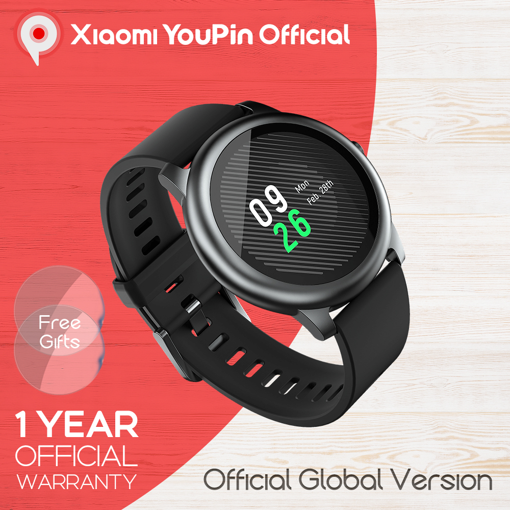Haylou Solar LS05 Smart Watch Sport Metal Heart Rate Sleep Monitor IP68 Waterproof iOS Android Global Version for Xiaomi YouPin