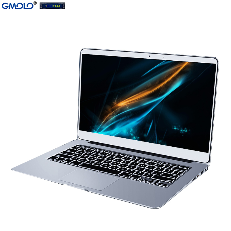GMOLO 14 Intel I7 metal laptop 8GB 256GB / 512GB SSD 14inch 1920*1080 IPS FHD screen Windows 10 gaming notebook computer