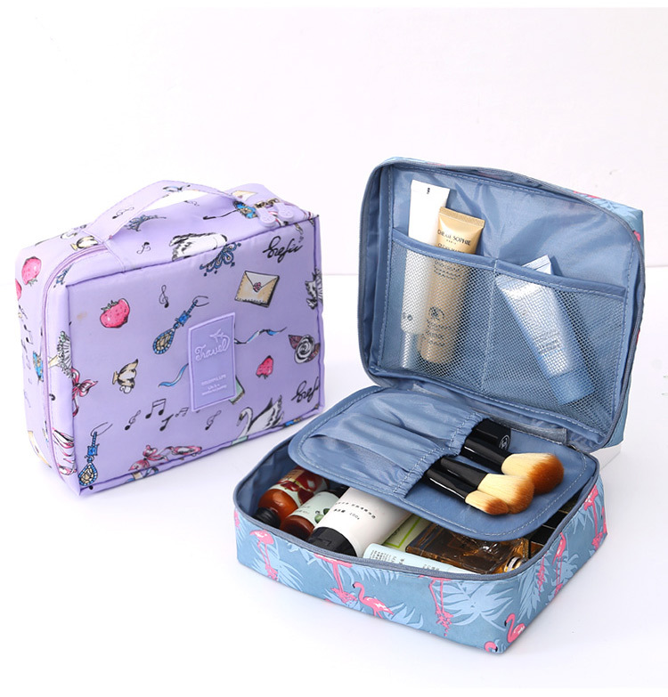 Multi-function Oxford Travel Cosmetic Bag Neceser Women Makeup Bags Toiletries Organizer Female Storage Make Up Cases