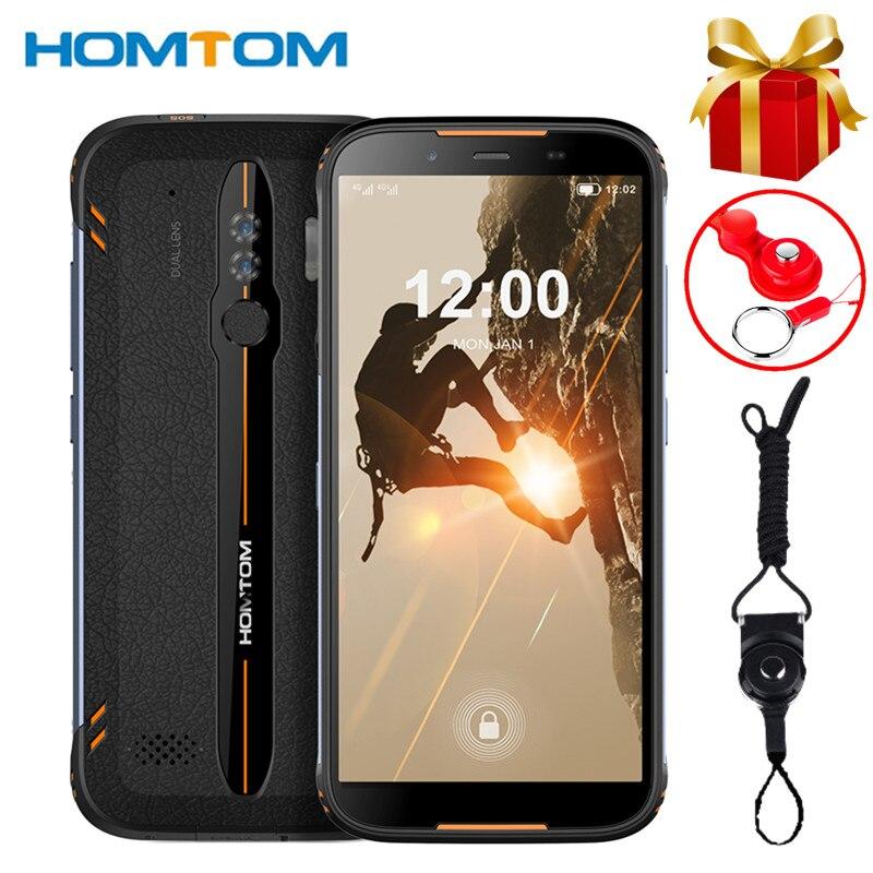 HOMTOM HT80 Водонепроницаемый смартфон с 5,5-дюймовым дисплеем, ОЗУ 2 Гб, ПЗУ 16 Гб, Android 10,0, 13 МП, NFC, 4G LTE