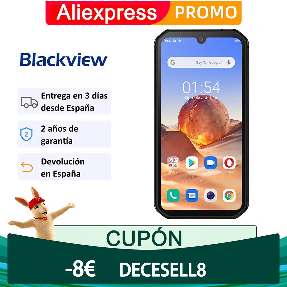 Blackview BV9900E Smartphone Helio P90 Teléfono resistente 6GB 128GB IP68 Cámara impermeable 48MP NFC Android 10 Teléfono móvil