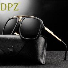 2020 DPZ New fashion retro trend men's sunglasses big frame metal coupl