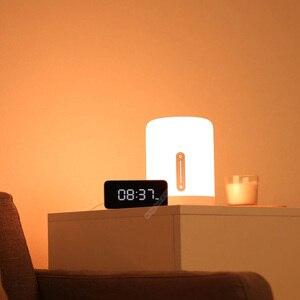 Image 2 - Xiaomi Mijia прикроватная лампа 2 свет WiFi/Bluetooth Светодиодная лампа Смарт Крытый ночник работает с Apple HomeKit
