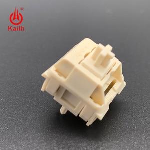Image 3 - Kailh Cream Mechanical Keyboard Switch liner hangfeeling MX switch 5pin