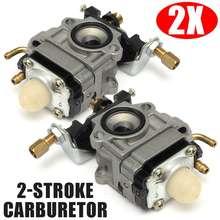1/2/4 peças strimmer carburador 10mm carb com junta para srm 260s 261s 261sb ppt pas 260 261 bc4401dw trimmer 43cc 47cc 49cc 50cc