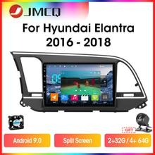 Автомагнитола jmcq t9 для hyundai elantra 6 2015 2016 2017 2018